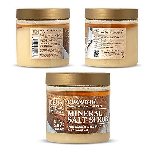 Dead Sea Salt Scrub & Coconut Oil