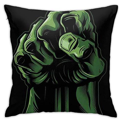 Gypsophila Pillow Cover Cushion Cover Hulk Decorative Pillow Case Sofa Seat Car Pillowcase Soft 18x18 Inch