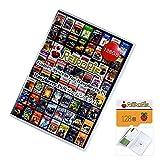 Raspberry Pi 128GB RetropieプレインストールゲームMicroSDカード、Pi 4Bシステム、8000以上のクラシックゲーム、プラグアンドプレイ