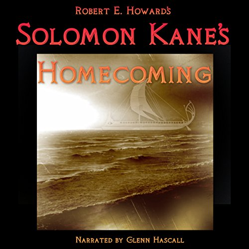 Solomon Kane's Homecoming audiobook cover art