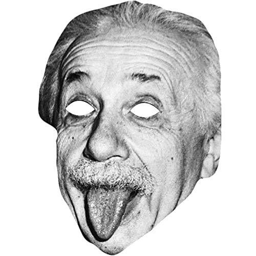 Lord Fox Albert Einstein Celebrity Maske Lustige Kostümparty