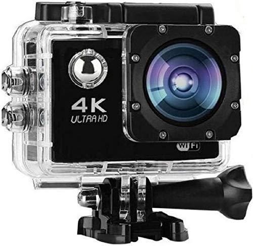 Shop-Art Action Cam,Mini VIDEOCAMERA WiFi 4K Sports Go PRO,PRO Cam Ultra HD DV 30MT,64GB Waterproof, Telecomando Accessori.