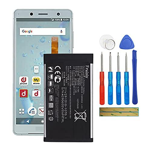 Fruisiy Batteria LIP1657ERPC per Sony Xperia XZ2 Compact XZ2 Mini H8324 H8314 + attrezzi