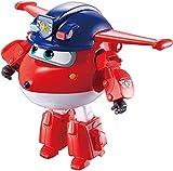 Super Wings EU730031 Transform-a-Bots Police Jett - Juego de Cartas de policía