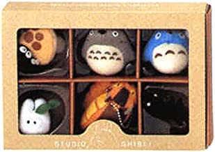 Studio Ghibli Complete Box 6 Figure Mascots with Key Ball Chain Ver.1 [Toy] (japan import)