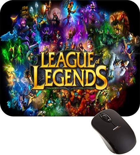Mouse Pad League of Legends Jogo Lol Logotipo Gamer FRETE GRÁTIS