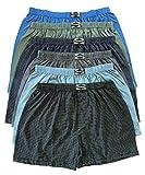 .bakis. 3/6/9/12 Stück Klassische Herren Boxershorts Unterhosen Unterwäsche mit Eingriff in Normalgröße und Übergröße, Gestreift Gr.5(S)-13(6XL) - 6 Stück - Gr. 6(M)
