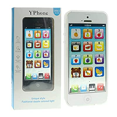 IQ Toys YPhone Toy Play Cell Phone USB Recharable by IQ Toys
