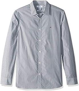 Calvin Klein Men's Extra Fine Cotton Button Up Shirt