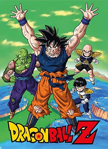 Dragonball Z - Fleecedecke - Namek - Son Goku - Piccolo - Krillin - 100 x 150 cm