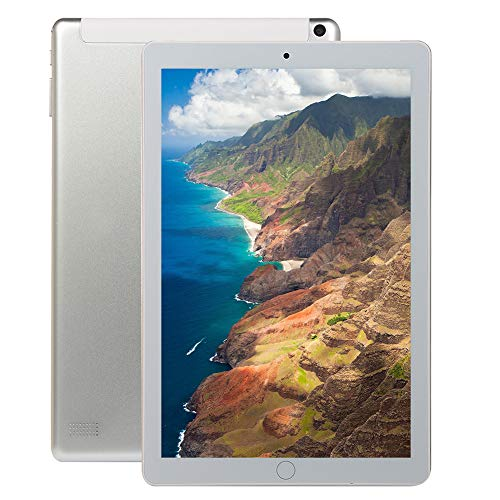CYY Tableta Android Ultradelgada de 10 Pulgadas,2GB RAM + 32GB ROM,Procesador Quad Core,Tablet PC con Dual SIM,Cámara Dual de 2MP + 8MP,WiFi GPS Bluetooth