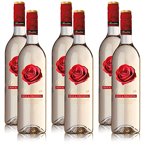 6 Flaschen Rosiere Blanc Weisswein, süss & fruchtig