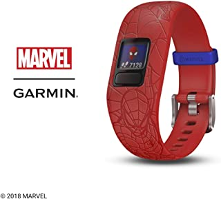 Garmin 010-01909-36 vivofit jr. 2, Spider-Man, Red
