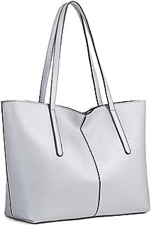 Monitika Bolsos de mano Mujer moda grande capacidad Bolsos bandolera Bolsos totes Shoppers y bolsos de hombro