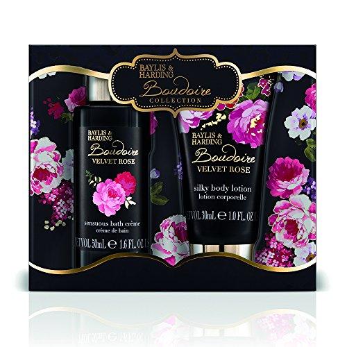 Baylis & Harding PLC Boudoire Rose Small Bain Essentials Coffret Cadeau