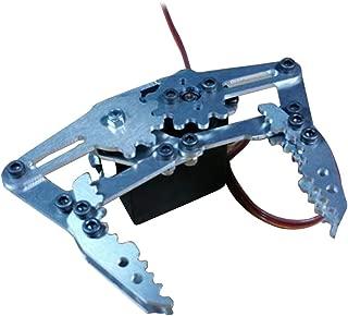 Kesoto Robotic Claw Gripper Robot Arm Clamp Mechanical Claws & Servo, Arduino Ctrl