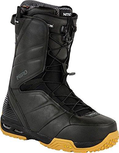 Nitro Snowboards Boots de Snowboard pour Homme Team TLS 15 - Noir - Noir, 43 1/3