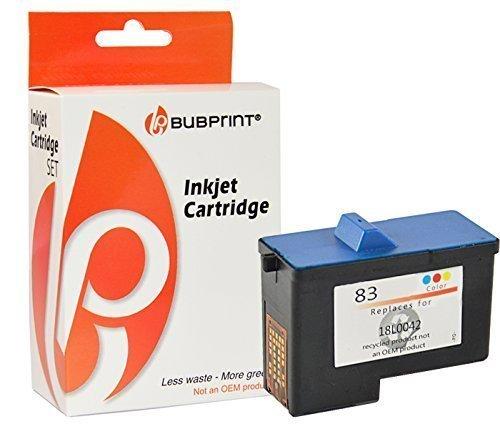 Bubprint Druckerpatrone kompatibel für Lexmark 83 für X5130 X5150 X5190 PRO X5100 X6100 Series X6150 X6170 X6190 Z55 Z55SE Z56 Z65 Z65N Z65P Farbe