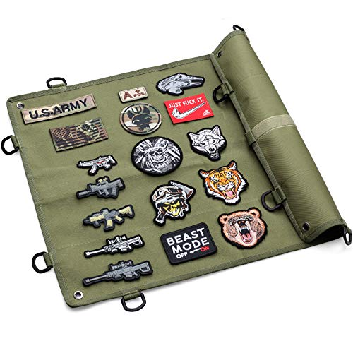 LIVANS Tactical Patch Board Display Panel, Morale Patches Holder Collection...
