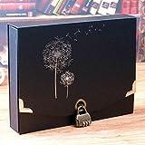 Renovación del hogar Mobiliario Bloqueo de contraseña Álbum de Bricolaje Libro de San Valentín Hecho a Mano Fotos Turismo Amor Registro de Crecimiento del bebé