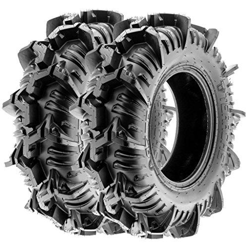 Terache 32x9-14 32x9x14 ATV UTV Tires 8 PR Tubeless AZTEX [Set of 2]