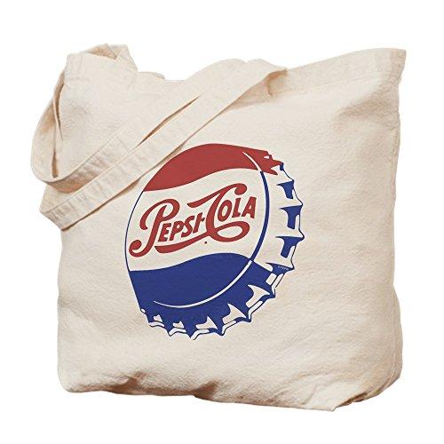 CafePress–Pepsi Flasche Mütze–Leinwand Natur Tasche, Einkaufstasche M khaki