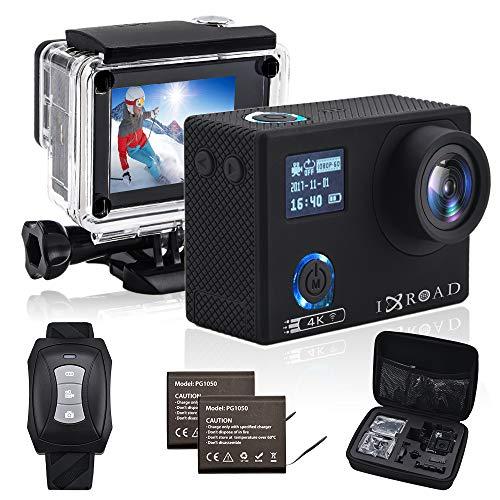 IXROAD Action Cam 4K 20MP WiFi Sport Camera Fotocamera Telecamera...