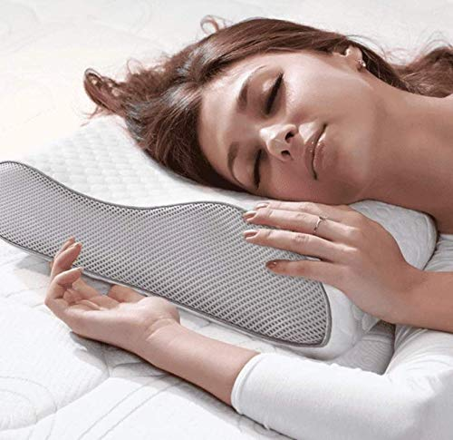 VIYONA Memory Foam Cervical Contour Medical Pillow for Sleeping Orthopedic Pillows for Neck Back Pain