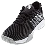K-Swiss Women's Hypercourt Supreme Tennis Shoe (Black/White/High-Rise, 8)