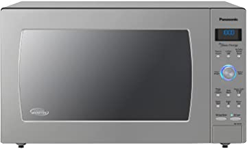 Panasonic Oven with Cyclonic Wave Inverter Technology, 1250W, 2.2cu.ft. Countertop Microwave with Genius Sensor One-Touch...
