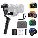 ZHIYUN-Crane-2S-Combo, 3-Axis-Handheld-Professional-Gimbal-Stabilizer with Mini Dual Grip & Extra Batteries
