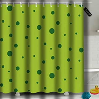 txregxy Shower Curtain Bath Curtain Abstract Frog Skin Green Decorative Modern Bathroom Accessories 12665 66