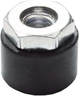 45mm Internal Square of Tube J.W Winco Inc. Metric Size M20 x 2.5 Thread Size JW Winco 3485045M20 Series EN 348 Plastic Black Square Type Threaded Tube End with Press-Fit Insert