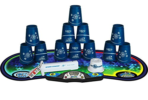 Speed Stacks Competitor Pro Series 2 - Cup Stacking Set with Timer, Mat and Cups
