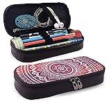 Bolsa de Lápiz,Estuche de lápices de Gran Capacidad Estuche Escolar de Gran Capacidad Mandala hippie
