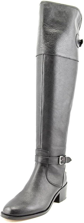 Tränare Tränare Tränare kvinnor Phillis svart läder stövlar  perfekt