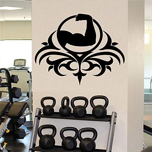 Geiqianjiumai Fitness afneembare kunst vinyl muursticker kinderkamer woonkamer decoratie muurkunst sticker