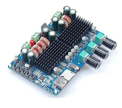DollaTek TPA3116 50W * 2 + 100W receptores Bluetooth 2.1 Vehículo Junta Subwoofer Junta de Doble Canal de alimentación AmplifierChannel Digital Power Amplifier DC12V-26V
