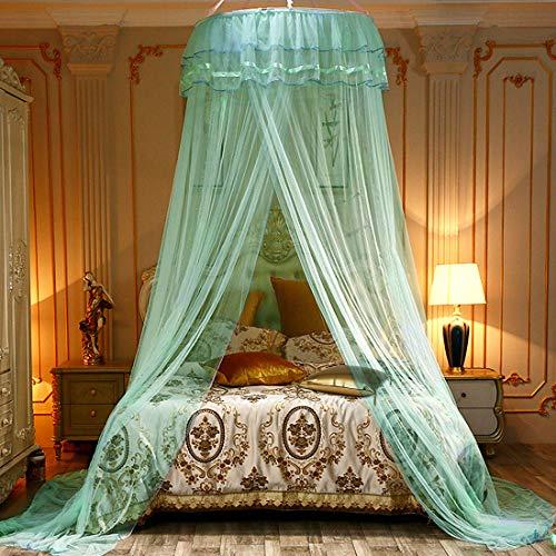 mosquito net for bed,dosel de cama,Dome Malla de mosquitera Mosquiteras Ligeras para Viaje, Cama de Matrimonio, Cama Individual,puede utilizar para decorar la habitación y prevenir insectos
