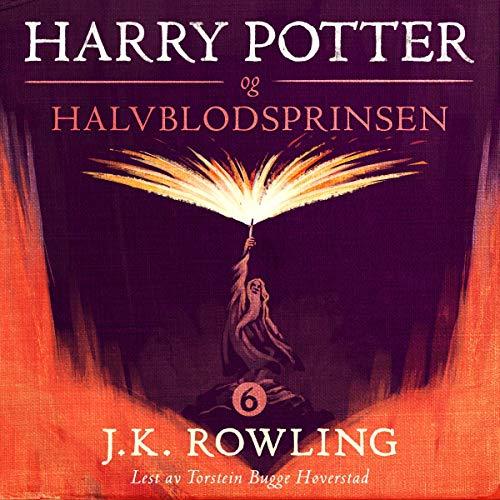 Harry Potter og Halvblodsprinsen audiobook cover art