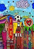 CALVENDO Atlanta, Poster DIN A3 hoch, Bilder, Kunstdruck,