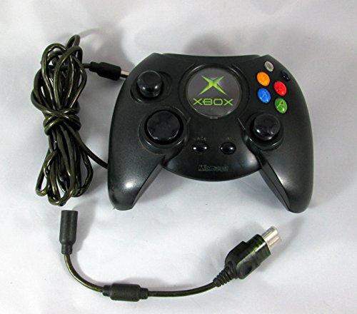 Microsoft XBox Controller Gamepad 6 Tasten für X-Box Schwarz