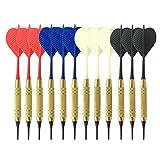 Viesky, bersaglio elettronico per freccette, in plastica, colore casuale, 12 pezzi, con pu...