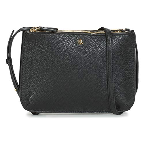 LAUREN RALPH LAUREN MERRIMACK CARTER CROSSBODY-MEDIUM Schoudertassen dames Zwart - One size - Schoudertassen met riem