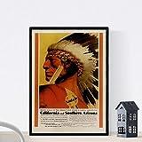 Nacnic Vintage Poster Vintage Poster Amerika. Kalifornien