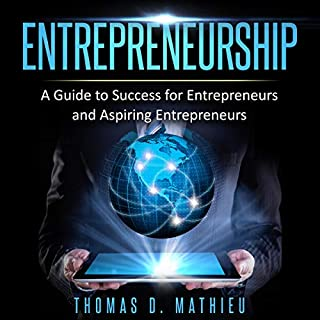 Entrepreneurship - A Guide to Success for Entrepreneurs and Aspiring Entrepreneurs audiobook cover art