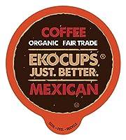 EkoCups メキシカン グルメ コーヒー、40個 (並行輸入)