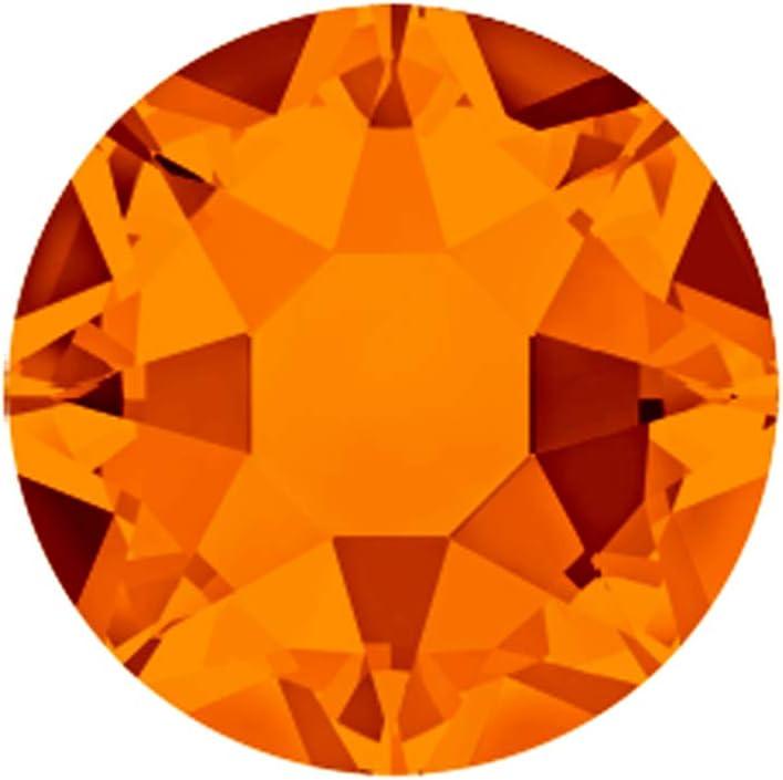 The Design Cart Tangerine Swarovski Rhinestones 34 Hotfix ss Direct Max 48% OFF sale of manufacturer