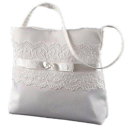BB-Bridal Brauttasche mit Spitze Farbe creme