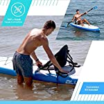 """Bluefin Cruise SUP Package   Stand Up Inflatable Paddle Board   6"""" Thick   Fibreglass Paddle   Kayak Conversion Kit…"""